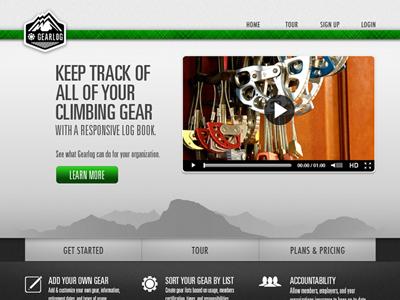 Gearlog Website