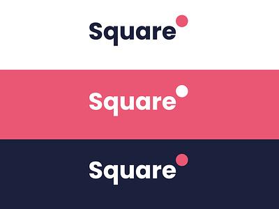 Square Logo Design simple logo firstshot minimalist logo design simple shapes circle square minimalist minimalist logo minimal icon flat branding design logo