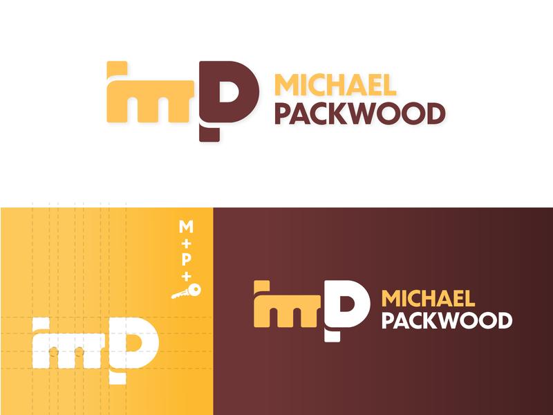 Michael Packwood - Monogram Logo monogram design monogram logo monograms monogram logo mark logomark logo design branding logo designer logos idea logos logodesigner logo design logodesign logo brand identity brand design minimal 2d illustration design