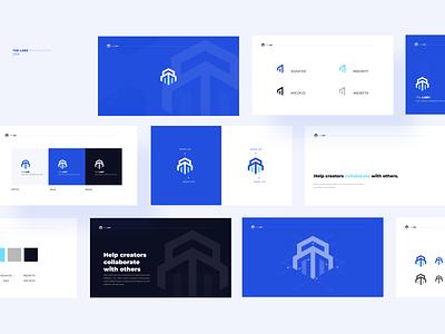 The Labz Branding ux typography icon branding web logo illustration design app ui