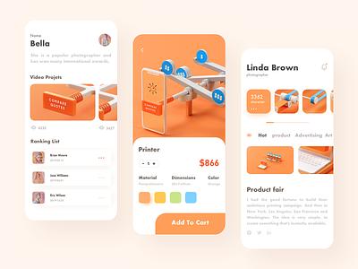 shopping app typography website web ux vector branding ui 图标 logo icon illustration design app