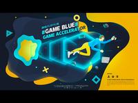 Game Blue illustration