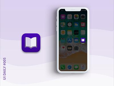 UI Daily #005 App Icon vector logo ux ui challenge ui daily