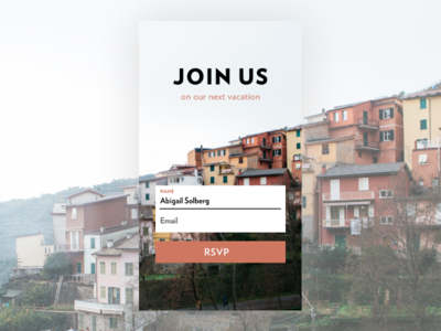 Sign Up Form   Daily UI Day 1