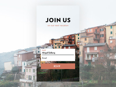 Sign Up Form | Daily UI Day 1 adobe experience design branding challenge daily ui dailyui 1 design sign in ui