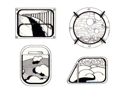 Windows windows draw illustration travel