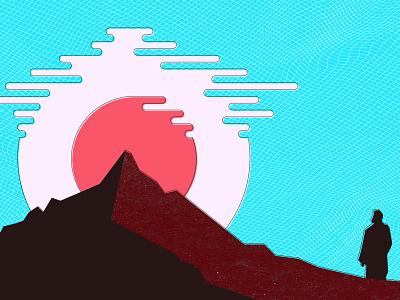 Moses on Mt. Sinai bible mt. sinai moses