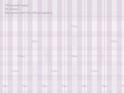 8px Grid System web columns layout 8px grid