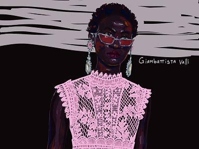 Giambattista Valli SS22 giambattista valli fashion illustration girl adobephotoshop artwork digital art graphic art drawing illustration