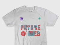 Fow Tee Design texture gatsby tshirt design typography