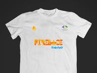 Firebase Tee dsc firebase tshirt design branding typography swag
