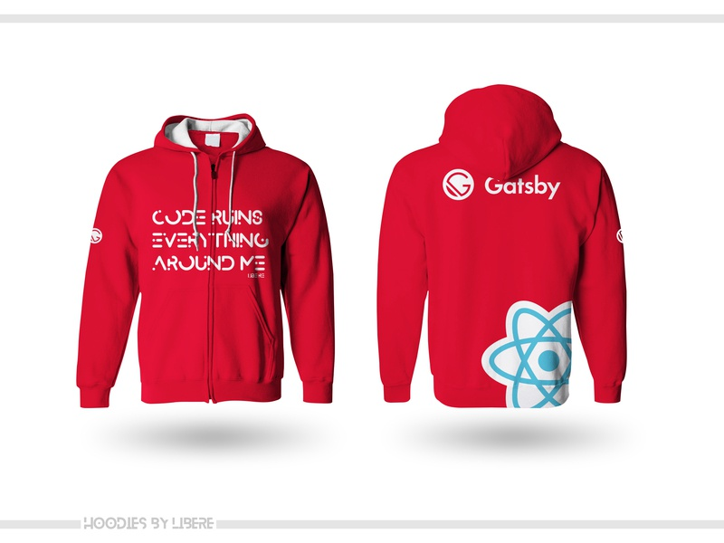 Gatsby Hoodie design swag typography hoodie branding gatsby