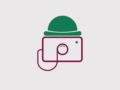 man camera logo logos illustration animation typography vector ui illustraion branding design graphic design graphic