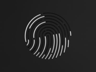 Apple's TouchID iphone apple illustration touchid
