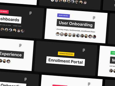 File Thumbnails figmadesign template kit team visual organization figma