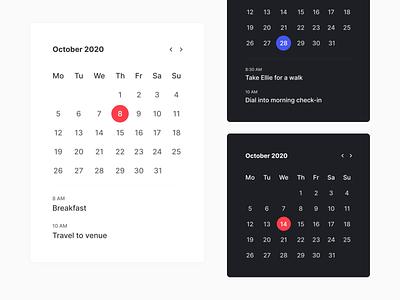 Calendar Widget datepicker date schedule widget calendar ui calendar