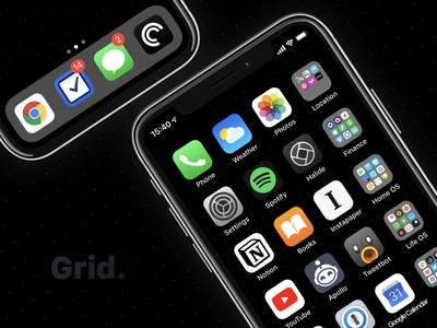 Grid Wallpaper for iPhone X(s) free dot black grid wallpaper