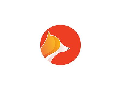 logo fox illustrator fox logo fox logo image art illustration 2d vector design