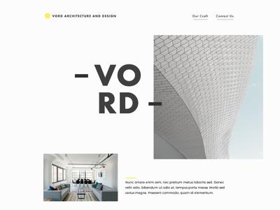 Architecture & Design typography grids minimalist ui web