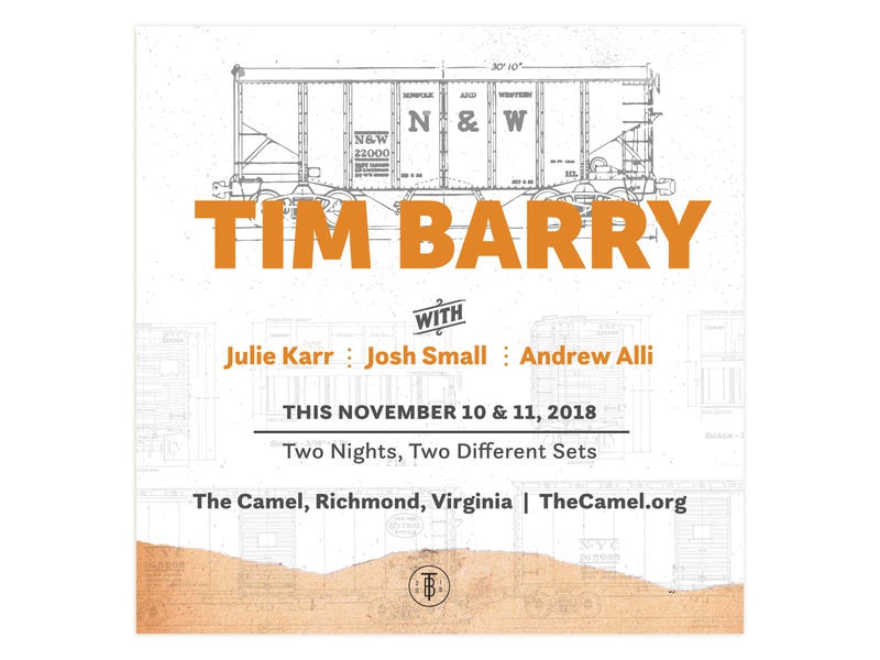 Poster for Tim Barry