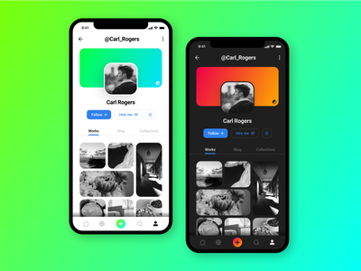 User Profile - UI Design user interface personal dailyui gradient app design mobile uidesign ui user profile profile user