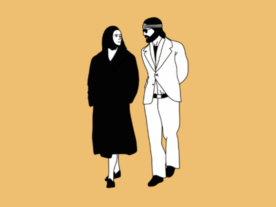 Movie Couples Collection n.1 movie cinema illustration