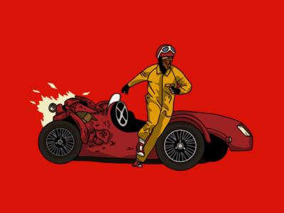 Castello Cavalcanti illustration wes anderson poster