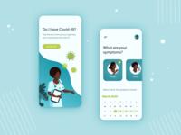 App for assessing Covid19 symptoms