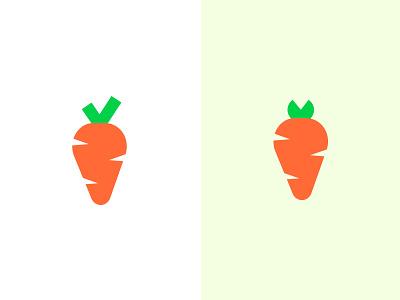 Carrot illustration vegetarian diet healty carrot veggie food logo branding vegan food organic