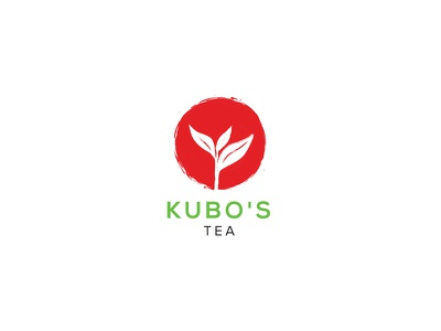 Japanese Tea logo circle logo japanese tea leaf natural organic