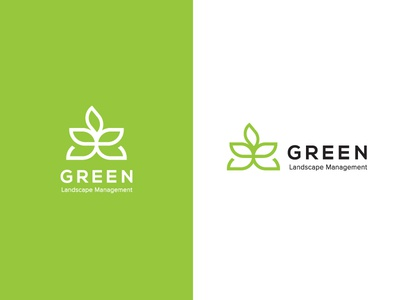 Green Landscape logo