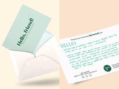 Spreetail Thank You Card