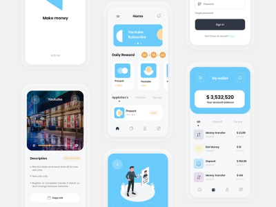 💰Make money | UI Design SoltaniMedia web branding icon set vector design money app uiux shopping dashboard app illustration application minimalist ui ux website sketch minimal