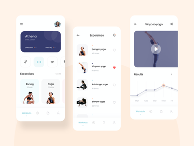 Daily workout | Soltanimedia app icon set application design minimalist website ui ux minimal sketch