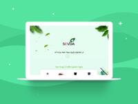 Sevda Landing Page UI Design