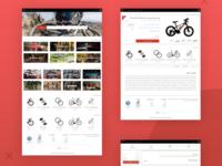 Bicycle Shop UI Design