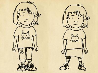 Georgie character sketch