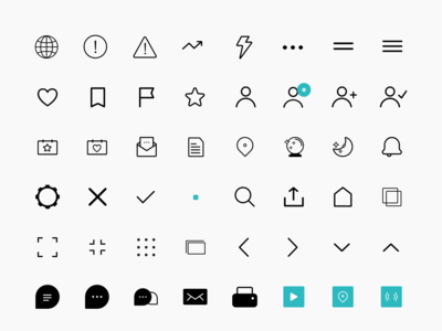 System Icons for the San Francisco Chronicle