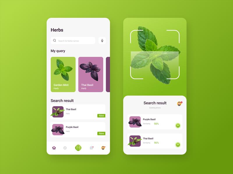UIchallenge #48 app ui design