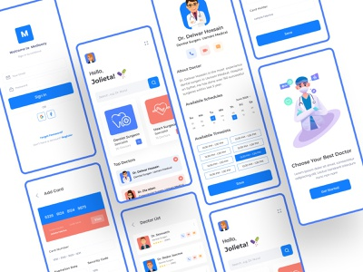 Doctor Consultation App illustraion medicine uiux uidesigns ios dribbble best shot illustration mobile app health app minimal uidesign medical app health care doctor app consultation 2019 trend 2020 trend
