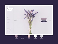 Lavender natural cosmetics website & online shop