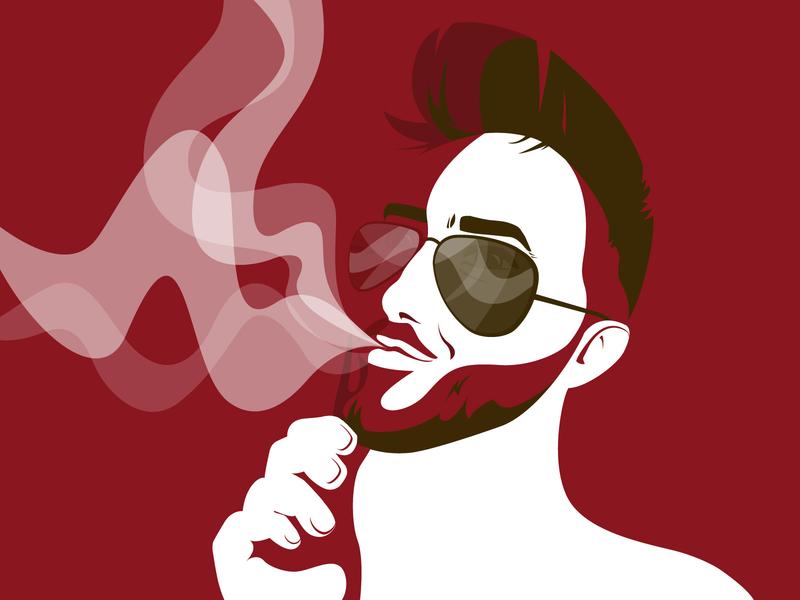 Obsession | personal illustration digital illustration illustration drawing adobe illustrator