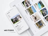 MB studio | architecture studio website