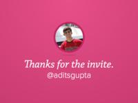 Thanks @aditsgupta