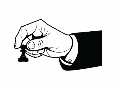 Chess Move Vector Image
