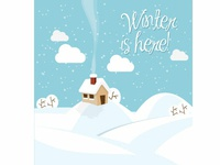 Wintertime Vector Image