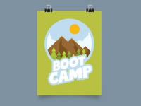 Camp Outdoor Vector Image