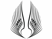 Wings Vector Clip Art
