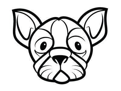 Dog Silhouette animal dog monochrome drawing illustration vector