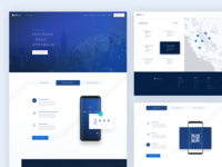 Coinsource Landing Page Design
